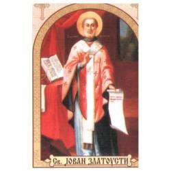 Sv. Jovan Zlatousti, ikone za sveće
