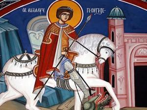 Sveti velikomučenik Georgije - Đurđevdan (6. maj)  Đurđic (16. Novembar)