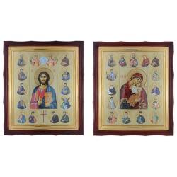 Celivajuće ikone (par)