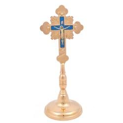 Krst mesingani stoni (pozlaćen)