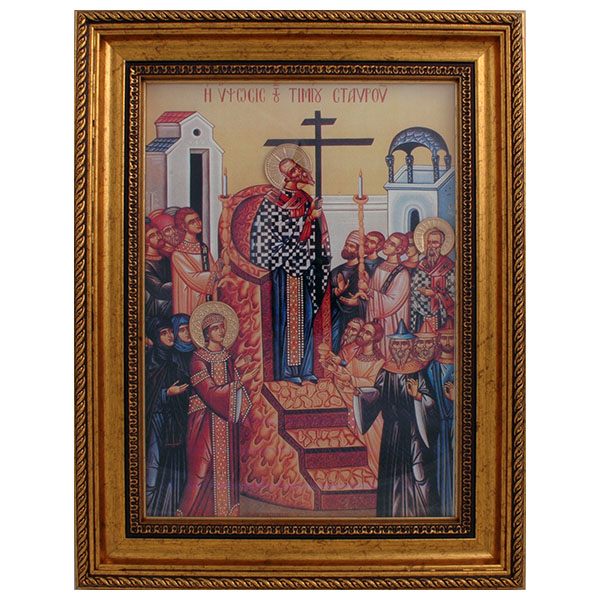 Krstovdan (38x30) cm