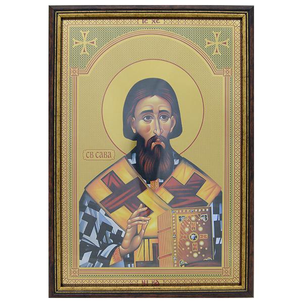 Sveti Sava (33.5x23.5) cm