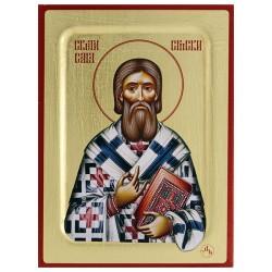 Sveti Sava Srpski (16x11.5) cm