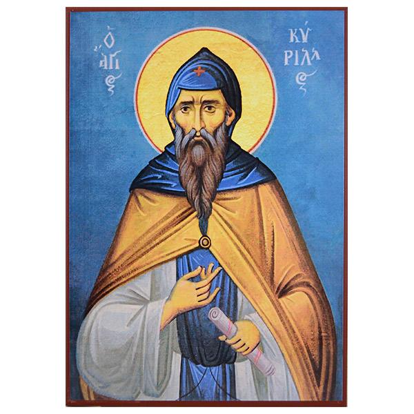 Sveti Kiril Slovenski (34x24) cm