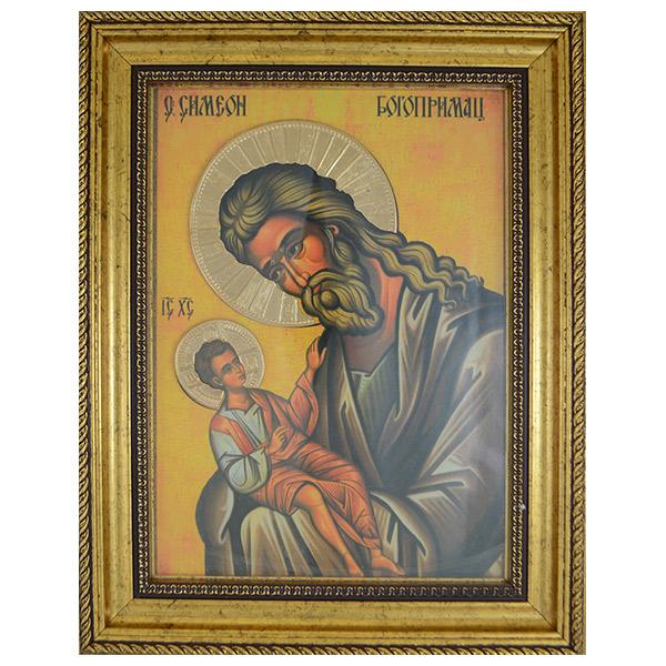 Sveti Simeon Bogoprimac (38x30) cm