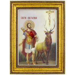 Sveti Evstatije (38x29) cm