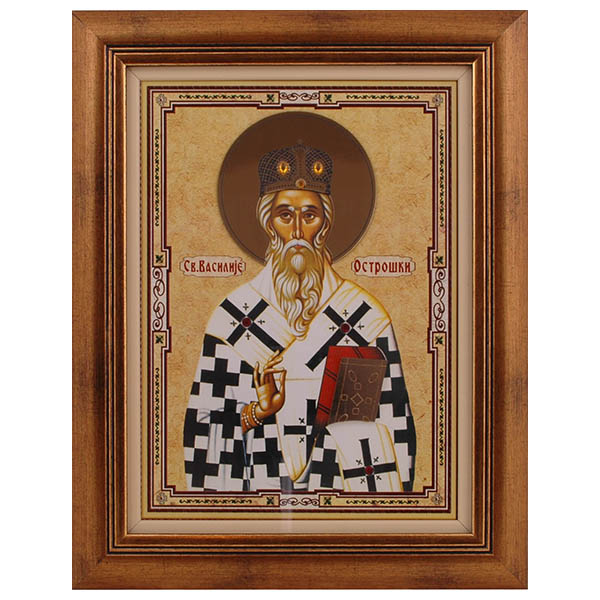 Sveti Vasilije Ostroški (40x31.5) cm