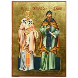 Sveti Metodije и Kirilo (34x25) cm