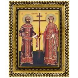 Sveti car Konstantin i carica Jelena (39x30) cm