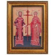 Sveti car Konstantin i carica Jelena (38x30) cm