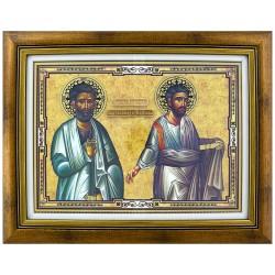 Sveti Apostol Vartolomej i Varnava (31x40) cm