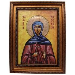 Sv. Prepodobna Anastasija (38x30) cm