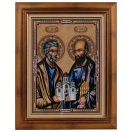 Sveti apostoli Petar i Pavle - Petrovdan (40x32) cm