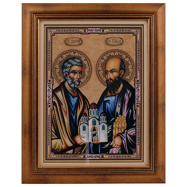 Sveti apostoli Petar i Pavle - Petrovdan (40x31.5) cm