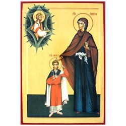 Sveti Kirik i Julita (33x23) cm