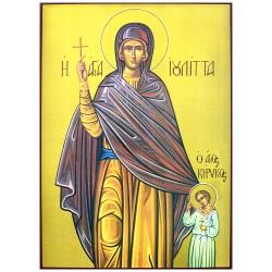 Sveti Kirik i Julita (34x24) cm