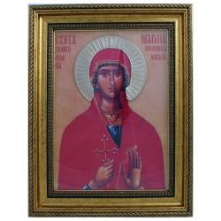 Sveta Marina - Ognjena Marija (38x30) cm
