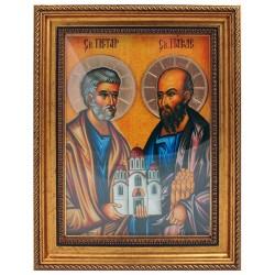 Sveti apostoli Petar i Pavle - Petrovdan (38x30) cm