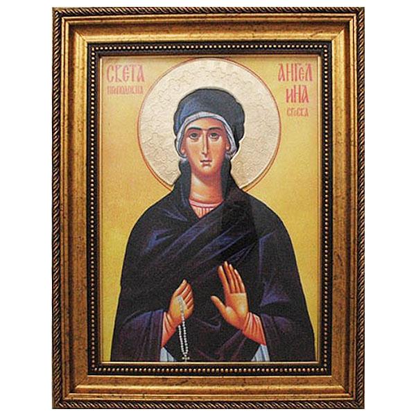 Sv. Prepodobna Angelina Srpska (38x30) cm