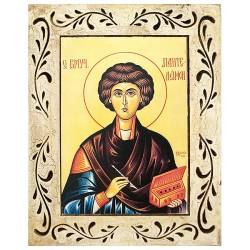 Sveti velikomučenik Pantelejmon  (34,5x27.5) cm