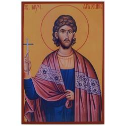 Sveti Mučenik Agatonik (30x21) cm