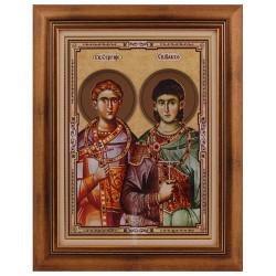 Sveti mučenici Sergije i Vakha - Srđevdan (40x32) cm
