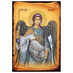 Sveti Arhangel Mihail (16x11) cm