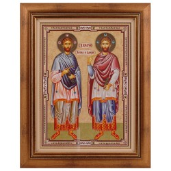 Sveti Kozma i Damjan - Vračevi (40x31.5) cm
