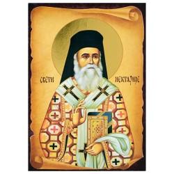 Sveti Nektarije Eginski (16x11) cm