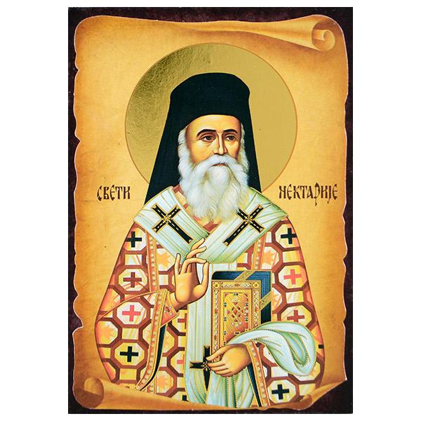 Sveti Nektarije (16x11) cm