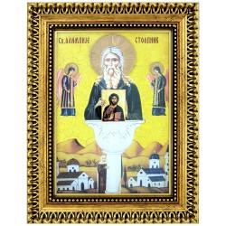 Sv. Alimpije Stolpnik (38x30) cm