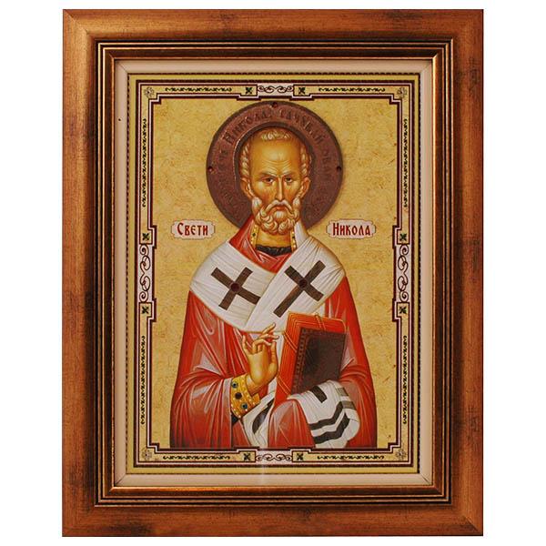 Sveti Nikola (40x31) cm