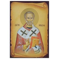 Sveti Nikola (16x11) cm