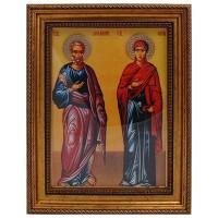 Sv. Joakim i Sv. Ana (38x30cm)