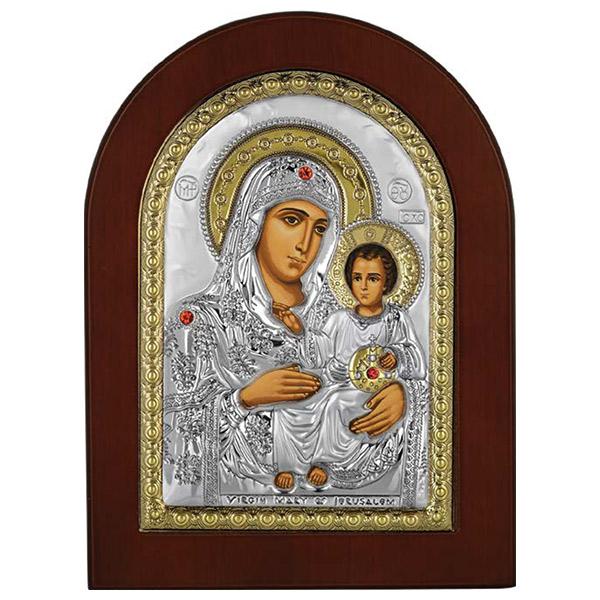Bogorodica Jerusalimska (21x15) cm