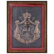 Grb Srpske pravoslavne crkve (36х28) cm