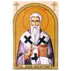 Sv. Jovan Milostivi, ikone za sveće