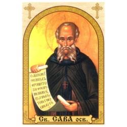 Sv. Sava osvećeni, ikone za sveće
