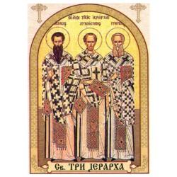 Sveta Tri Jerarha, ikone za sveće