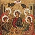 17. Silazak svetog Duha na apostole DUHOVI - TROJICE