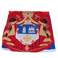 Zastava srpske pravoslavne crkve 2 m (zidna)