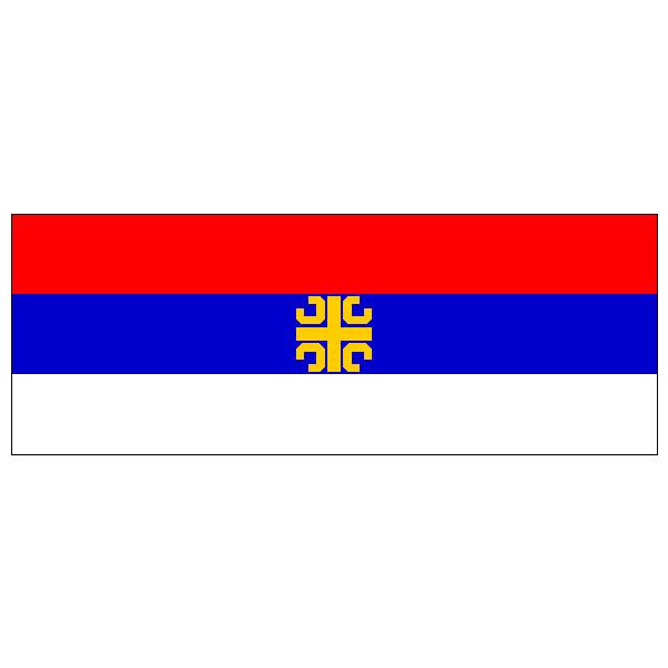 Zastava Srbije  sa ocilima 1,5 m