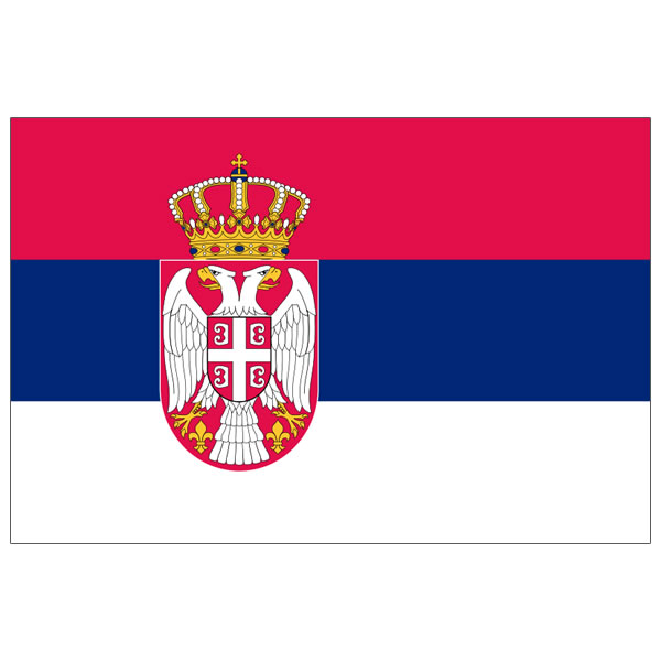 Zastava Srbije 1 m