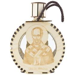 Staklena čutura - Sveti Nikola