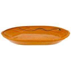Oval (26x18.5x3) cm