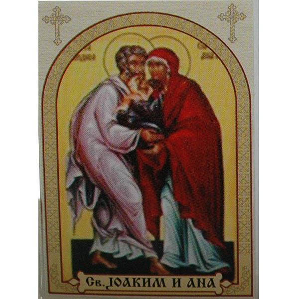 Sveti Joakim i Ana, ikone za sveće
