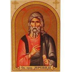 Sveti prorok Jeremija, ikone za sveće 100 kom.