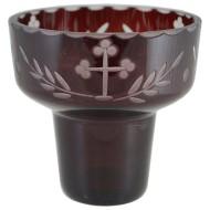 "Čaša za kandilo - ""Rubin"" (11,5x11) cm"