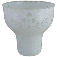"Čaša za kandilo ""Opal"" (12x11) cm"