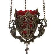 Kandilo metalno (patina)